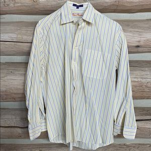 Alan flusser button down